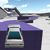 Stunt Car Arena   Kano Games Funnygames Stunt Car Arena