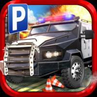 3D Police Parking Simulator Game