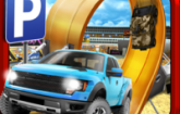 3D Monster Truck Parking Simulator Game