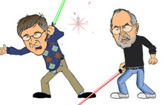 Gates vs Jobs